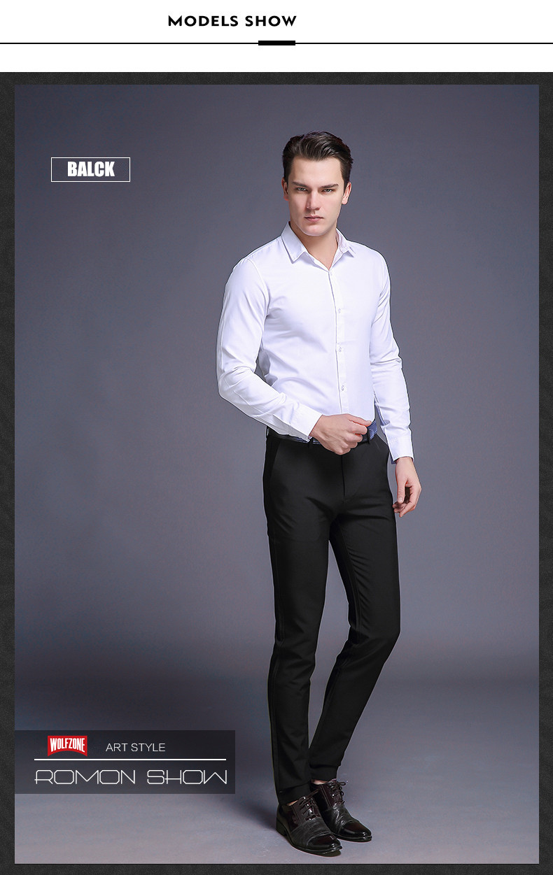 HTB1HBRohJzJ8KJjSspkq6zF7VXaa Fashion New High Quality Cotton Men Pants Straight Spring and Summer Long Male Classic Business Casual Trousers Full Length Mid