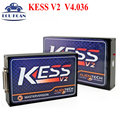 Newest Version OBD2 Tuning Kit KESS V2 4.036 Main Unit SW 2.30 ECU Chip Tuning Programmer Kess V2 V2.30 DHL Free