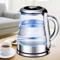 Electric kettle  glass electric kettle  used  cooking  quick kettle 304 stainless steel automatic power failure kettl