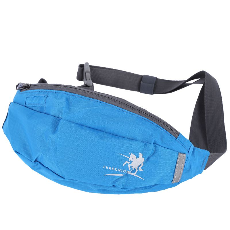 Men Women Waist Running Pack Fanny Pack Bum Bag Hip Money Belt Travelling Mountaineering Fishing Cycling