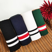 Stretchy Cotton Rib Cuff DIY Knitted Fabric for neckline hem, winter jacket,Clothing accessories