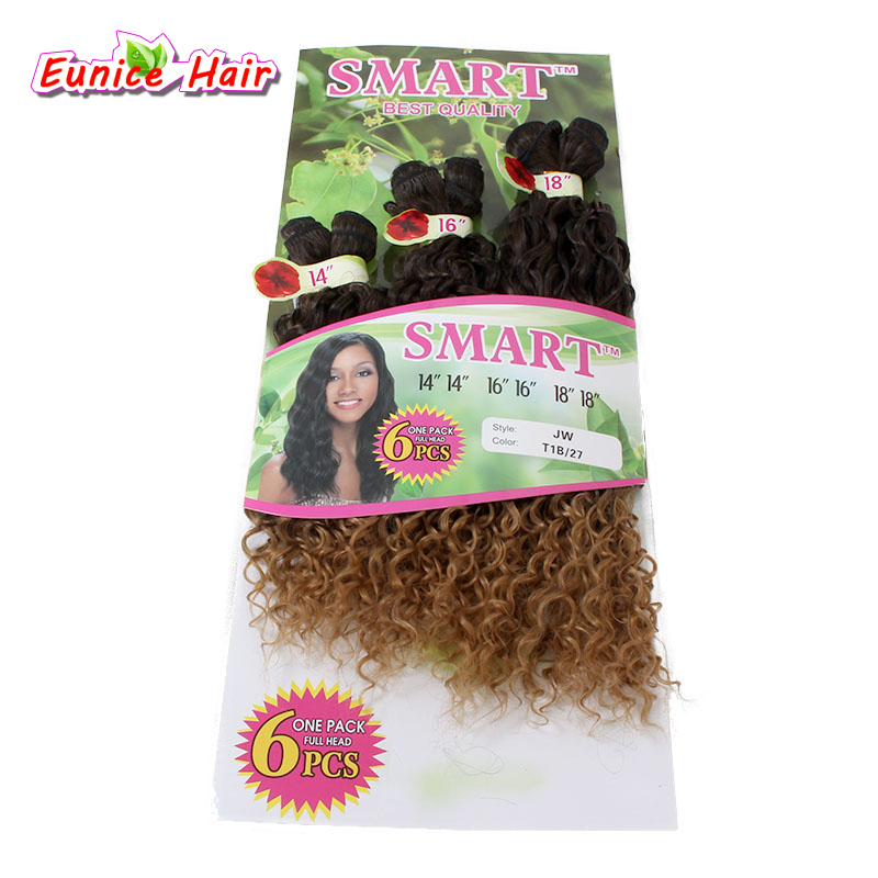 6pcs Per Pack Ombre Bug Purple 613 30 Kinky Curly Synthetic Braiding
