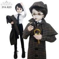 24 24 дюймов полный набор SD кукла 60 см детектив Для мужчин мальчик 1/3 шарнирные куклы Шерлок Холмс BJD игрушка фигурку + одежда + макияж