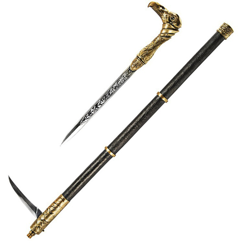 ФОТО Japan Cosplay NECA Assassins Creed 6 Syndicates Weapons Props 1: 1Sleeve Sword Stick Brinquedos Action Figure Model Toys HX-0009