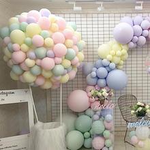 100 шт 10 inch Макарон цветной латекс свадебные шары для День рождения День Святого Валентина дропшиппинг