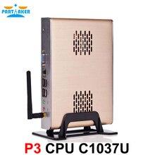 Partaker P3 Personal Mini PC with Celeron 1037u 1007u Processor