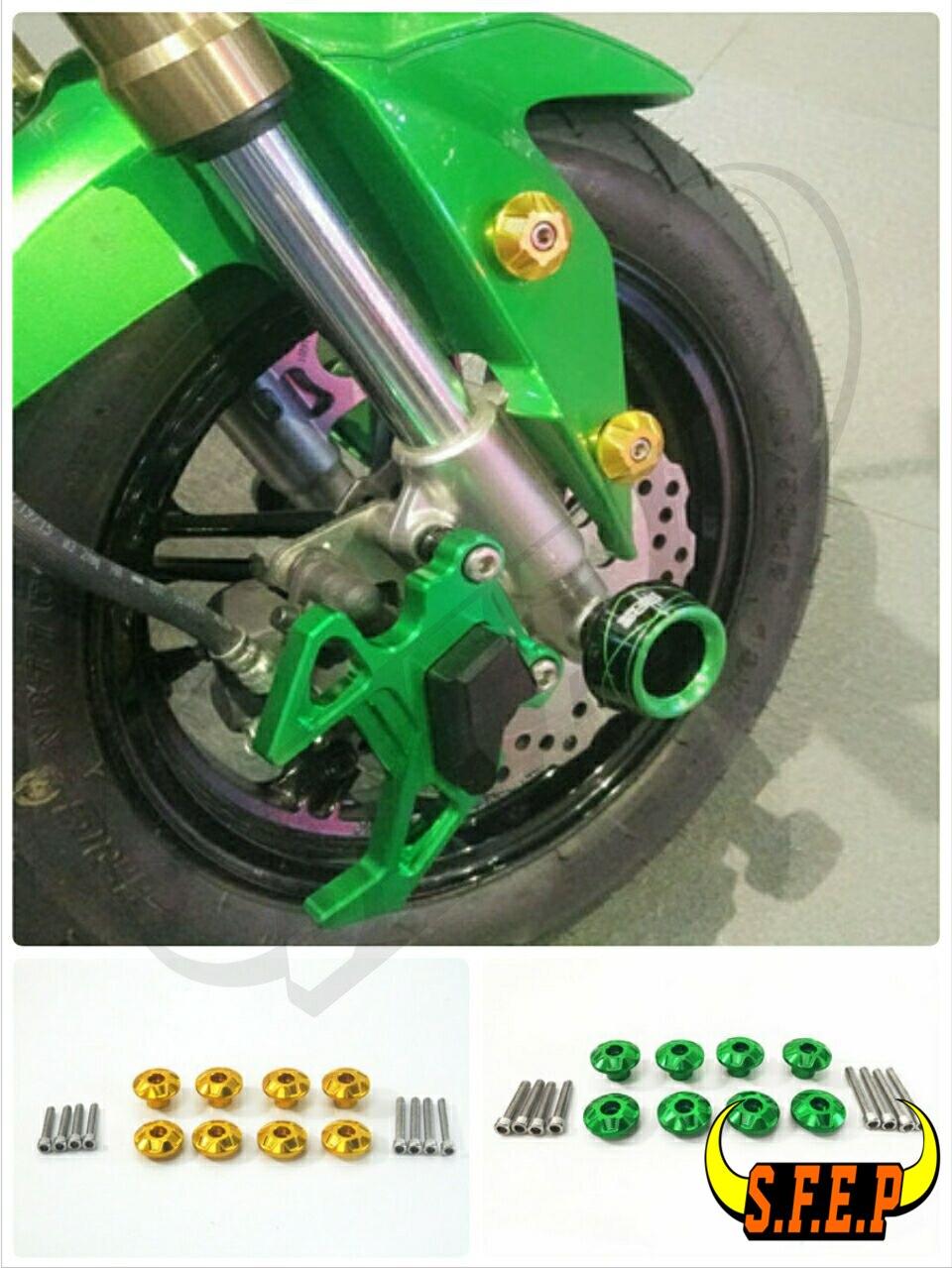Motorcycle Universal CNC Frame Hole Cover For Honda GROM MSX125 MSX125SF CBR250R CBR300R CBR500R CBR650F CBR600RR CBR1000RR