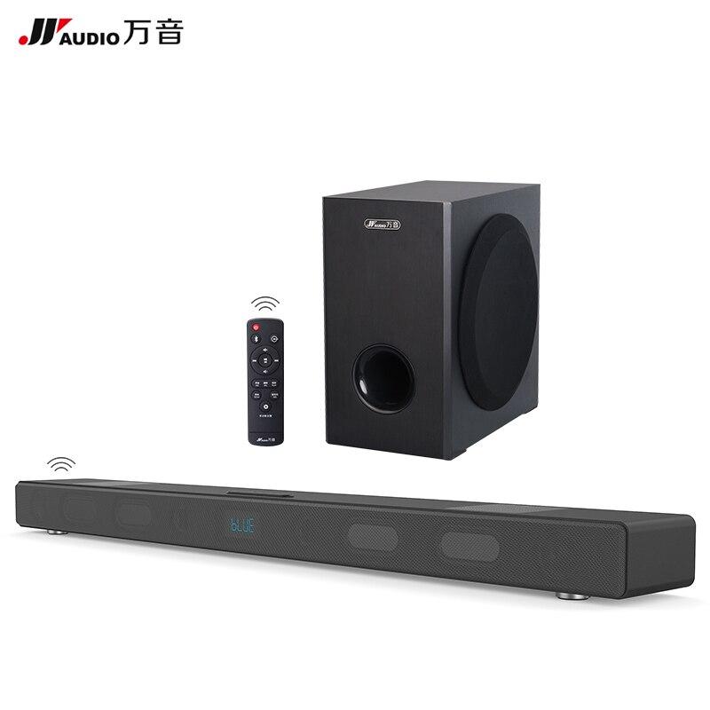 60 Вт Беспроводной ТВ Sound Bar с сабвуфера bluetooth стерео Динамик 5.1 дома Театр 3D K ТВ Саундбар для Xiaomi проектор оптический