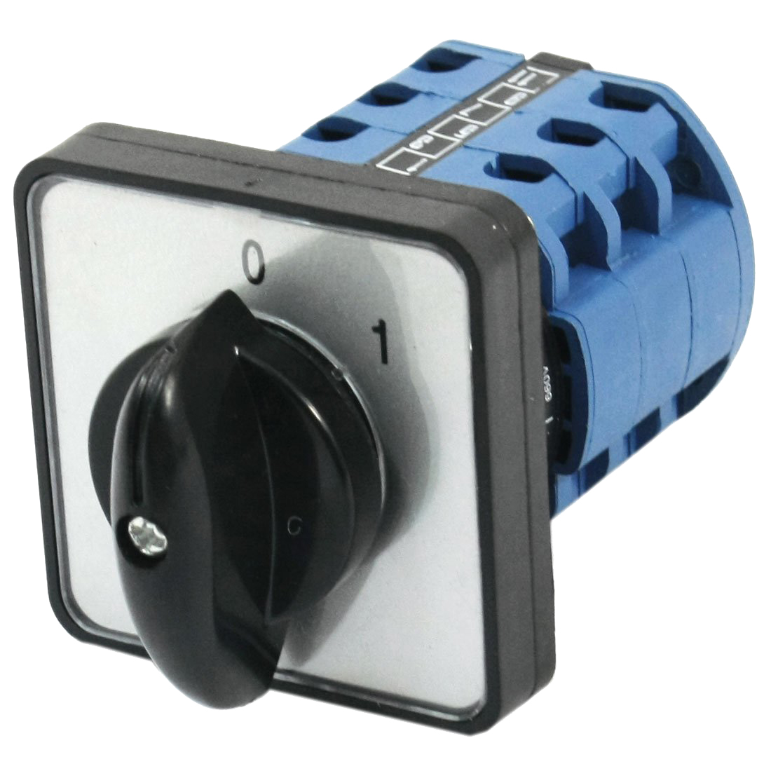 Square Panel Mounting 2-Position 3-Phase Rotary Changeover Switch CA10 660v ui 10a ith 8 terminals rotary cam universal changeover combination switch