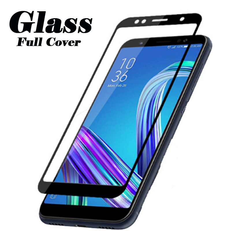 Full Cover Tempered Glass Protective Glass For Asus Zenfone Max Pro M1 ZB601KL ZB555KL Screen Protector On Zenfone Max Pro M 1