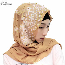 Bohowall hiyab musulmán islámico, India, ropa interior para mujer, 14 colores, Hoofddoek, nuevo diseño, Kopftuch hiyab
