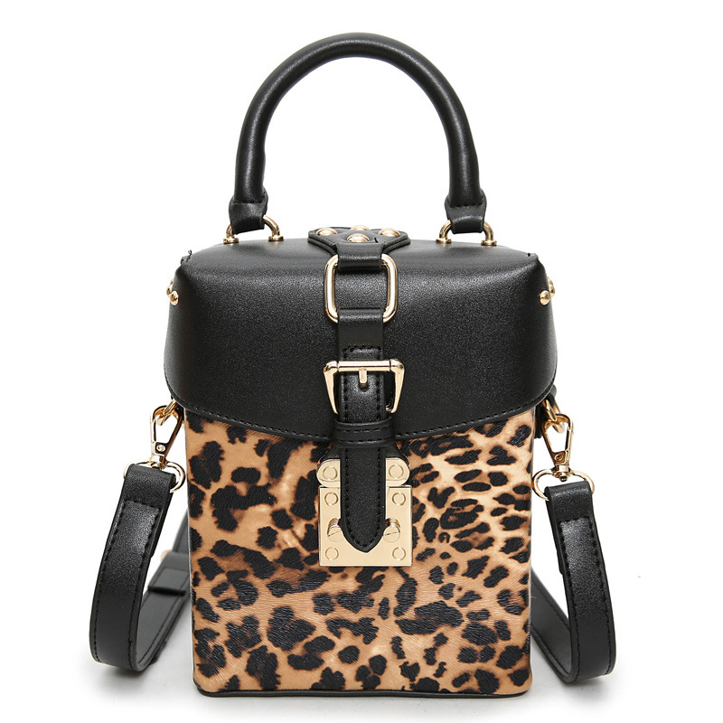 Women Tote Famous brands box bag for women messenger bags lady shoulder crossbody bag fashion handbag high quality Leopard bags sgarr fashion pu leather casual tote bag famous brands small women embroidery handbag shoulder bags luxury female crossbody bag