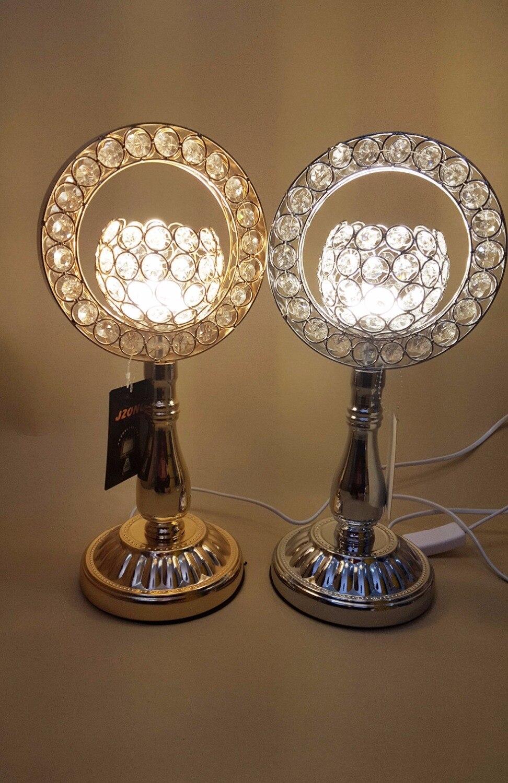 Новинка 2017 модели современный T001 LED Кристалл Настольные лампы гостиная спальня ночники кристалл декоративные