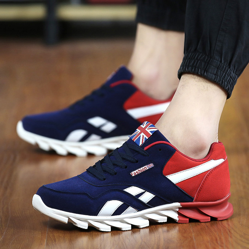 2017 new Men Casual Shoes Spring Autumn Mens Trainers Breathable Flats Walking Shoes Zapatillas Hombre Fashion Shoes Male