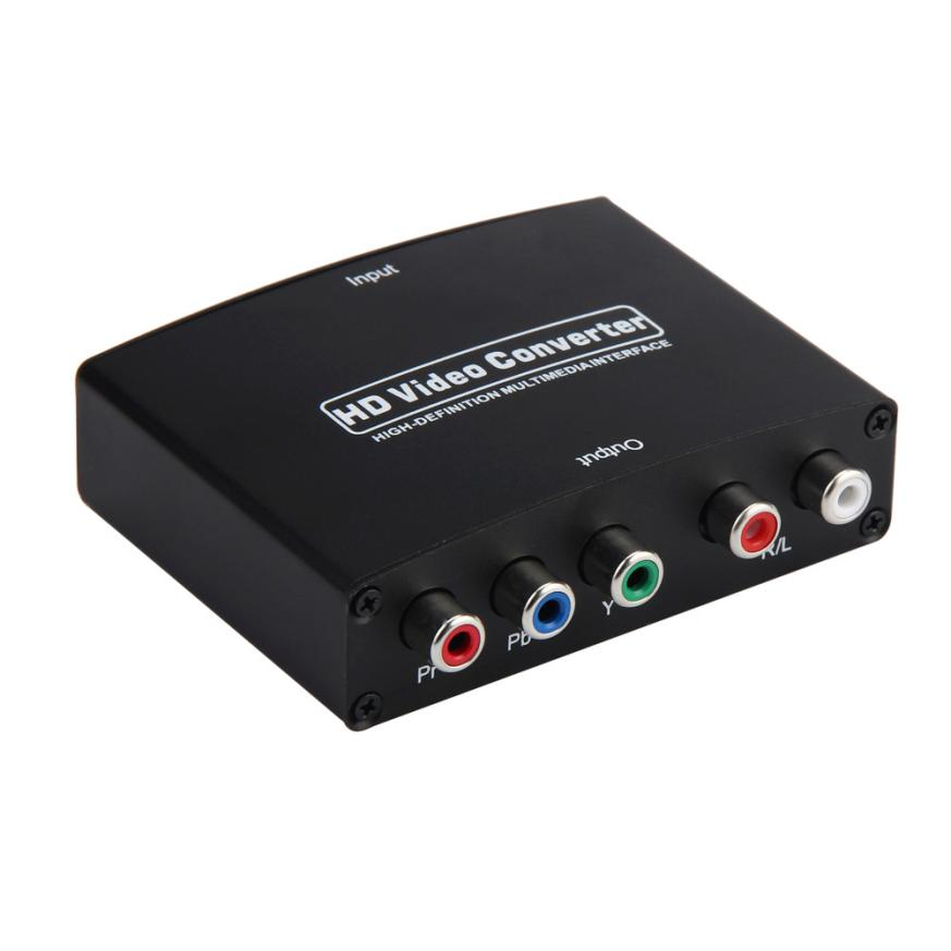 HL 2017 Newest HD Video Converter 1080P HDMI Switch Ethernet To Video Component Adapter MAY15  E22#3