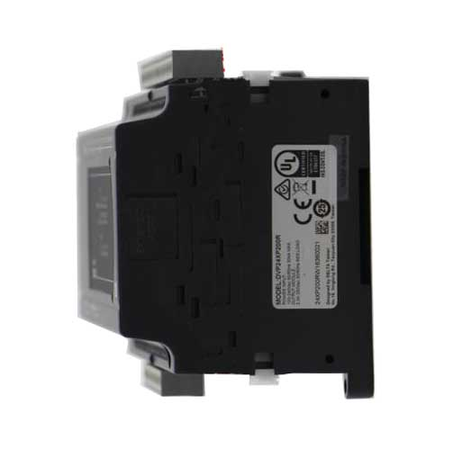 New Original DVP24XP200R Delta PLC Digital module ES2 series 100-240VAC 16DI 8DO Relay output кольцо