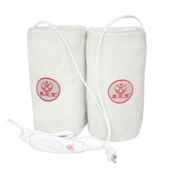 Far Infrared Electric Knee Pads Middle-aged Moxibustion Leg Warmers Light Grey All Code Leg Bag electric knee pads keep warm electric heating moxibustion four seasons s size leg warmers