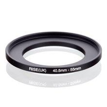 Original RISE (royaume uni) 40.5mm 55mm 40.5 55mm 40.5 à 55 adaptateur de filtre annulaire noir