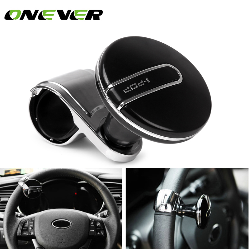 Active 1* Auxiliary Booster Car Steering Wheel Spinner Knob Aid Control Handle Grip Use Atv,rv,boat & Other Vehicle