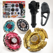 With Original Package Beyblade Burst Metal Fusion 4D Launcher Beyblade Spinning Top set Kids Game Toys