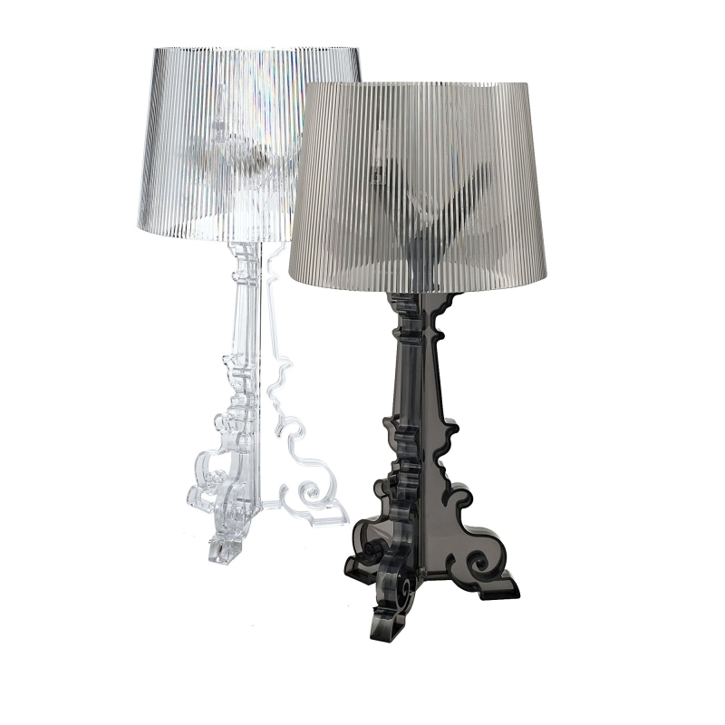 GZMJ Wonderland Modern Lustre Small Acrylic Shadows LED Ghost Table Lamp Bedroom Bedside Table Lamps Abajour Reading Desk Lamps modren ghost shadows bedroom bedside table lamps with shade led table lamp e27 e26 acrylic reading desk lights dia 24 h52cm