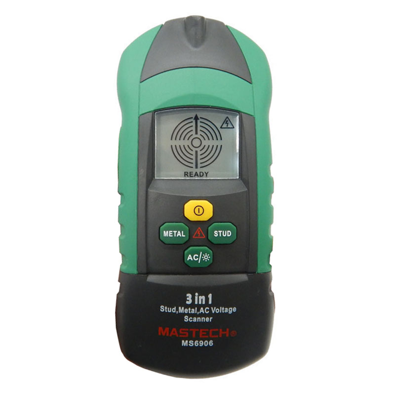 New MASTECH MS6906 3 in 1 Multi-function Stud Metal AC Voltage Scanner Detector Tester Thickness Gauge w/ NCV Test  цены