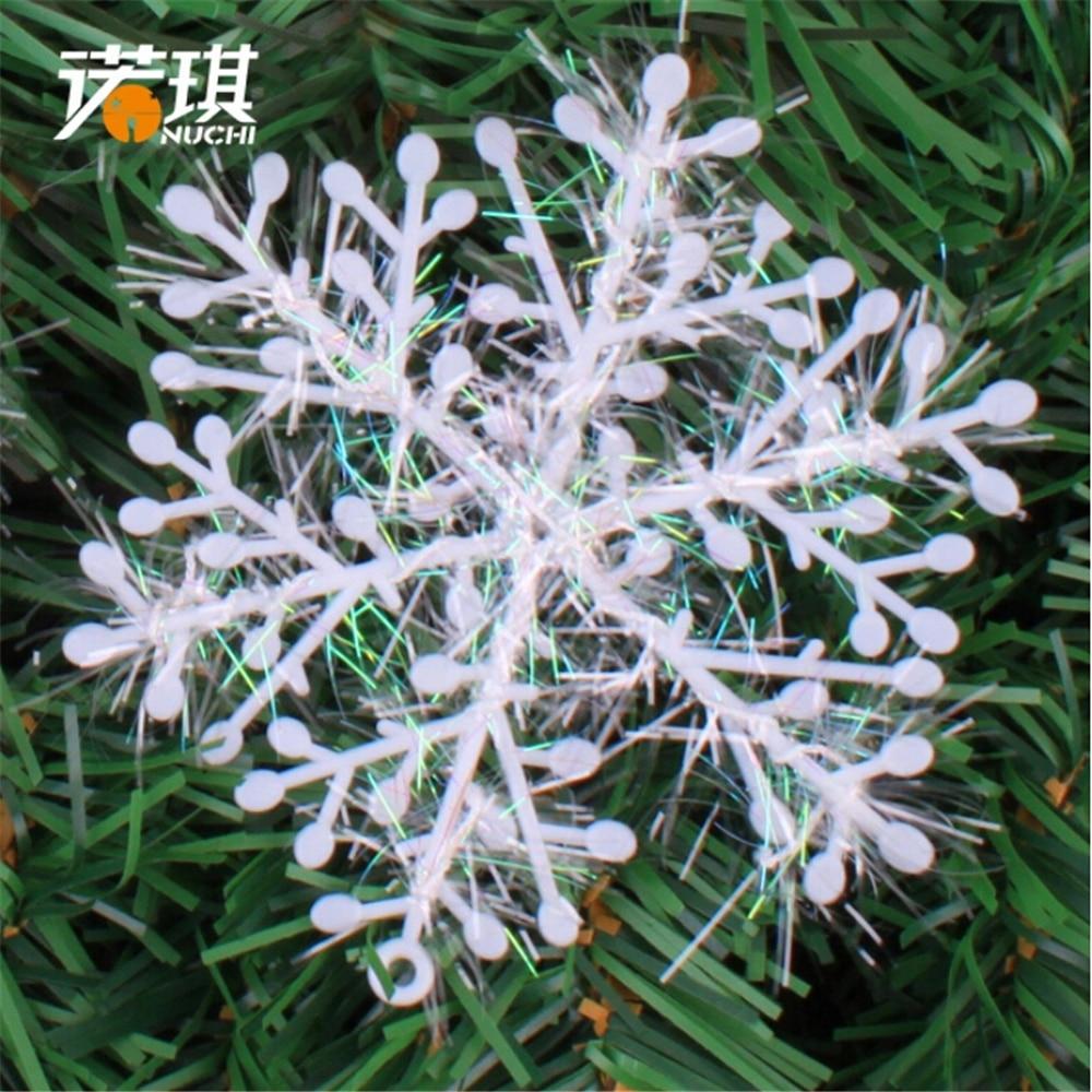 Snowflakes ornaments - Merry Christmas 10pcs Lot Christmas Snowflake Decorations Large Felt Snowflakes For Navidad Bogar Tree