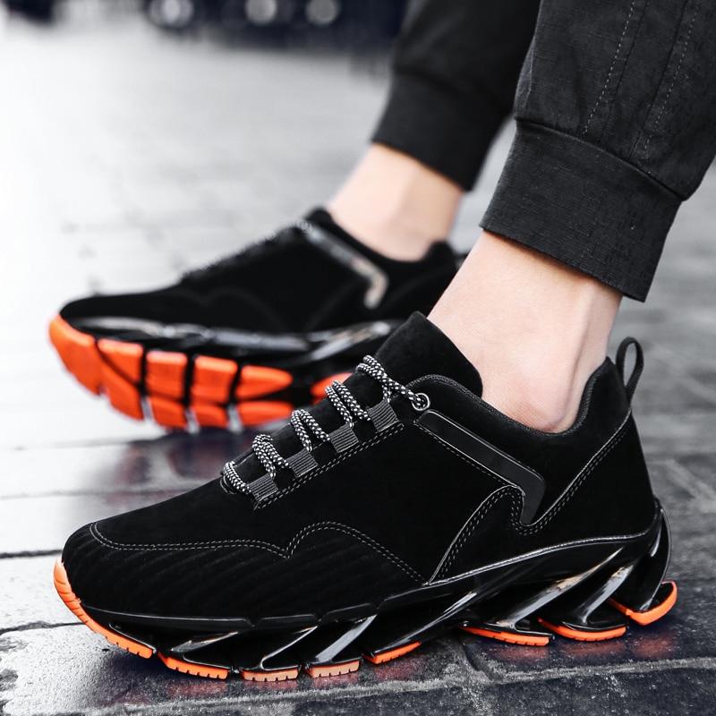 Winter mens plus velvet warm cotton mens trend shoes couple sports n word running shoes