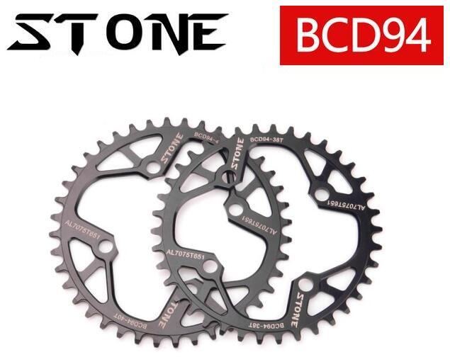 Stone 94BCD 32T/34T/36T/38T/40T/42T/44T/46T/48T Cycling Chainring MTB Bike Chainwheel Crankset Tooth Plate for NX GX X1 BCD 94  цена