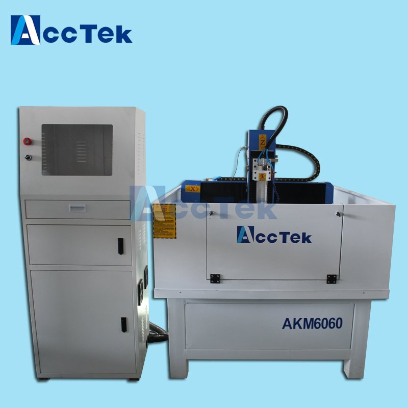 Acctek 600600 Mini Metal Cnc Router Moulding Machinery With Ce