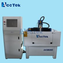 AccTek 600*600 mini metal cnc router moulding machinery with CE certification
