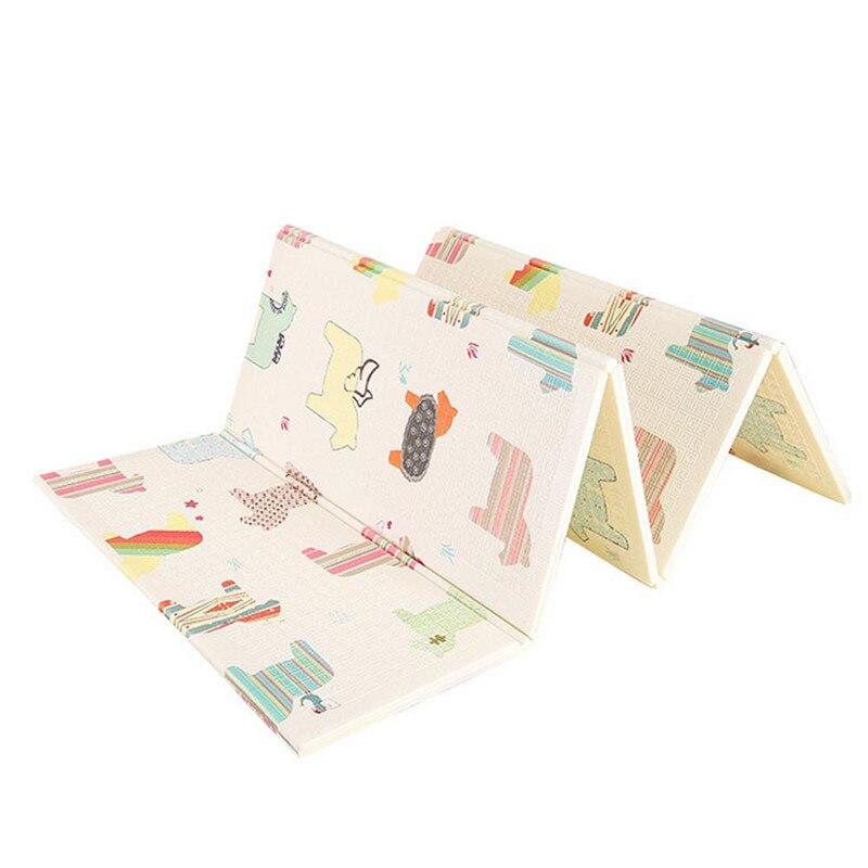 Tapis rampant pliant tapis XPE pour enfants tapis d'escalade épaississement couverture de jeu en plein air bébé tapis pliants