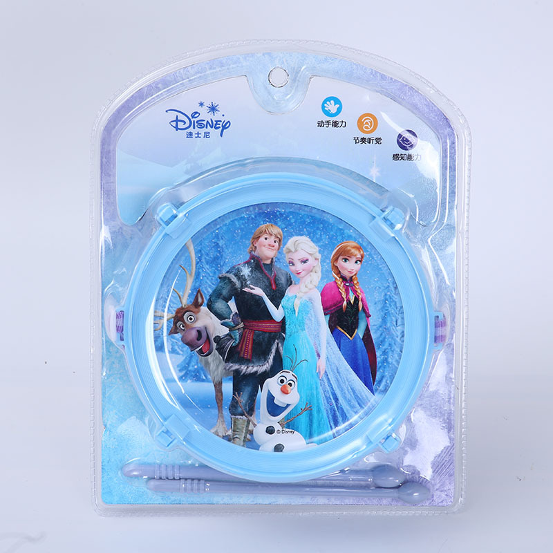 Disney Children's Musical Instruments Mickey/Princess Series Single Drum Girl Toys Children  Birthday Gift Toy Boy Kids Toys
