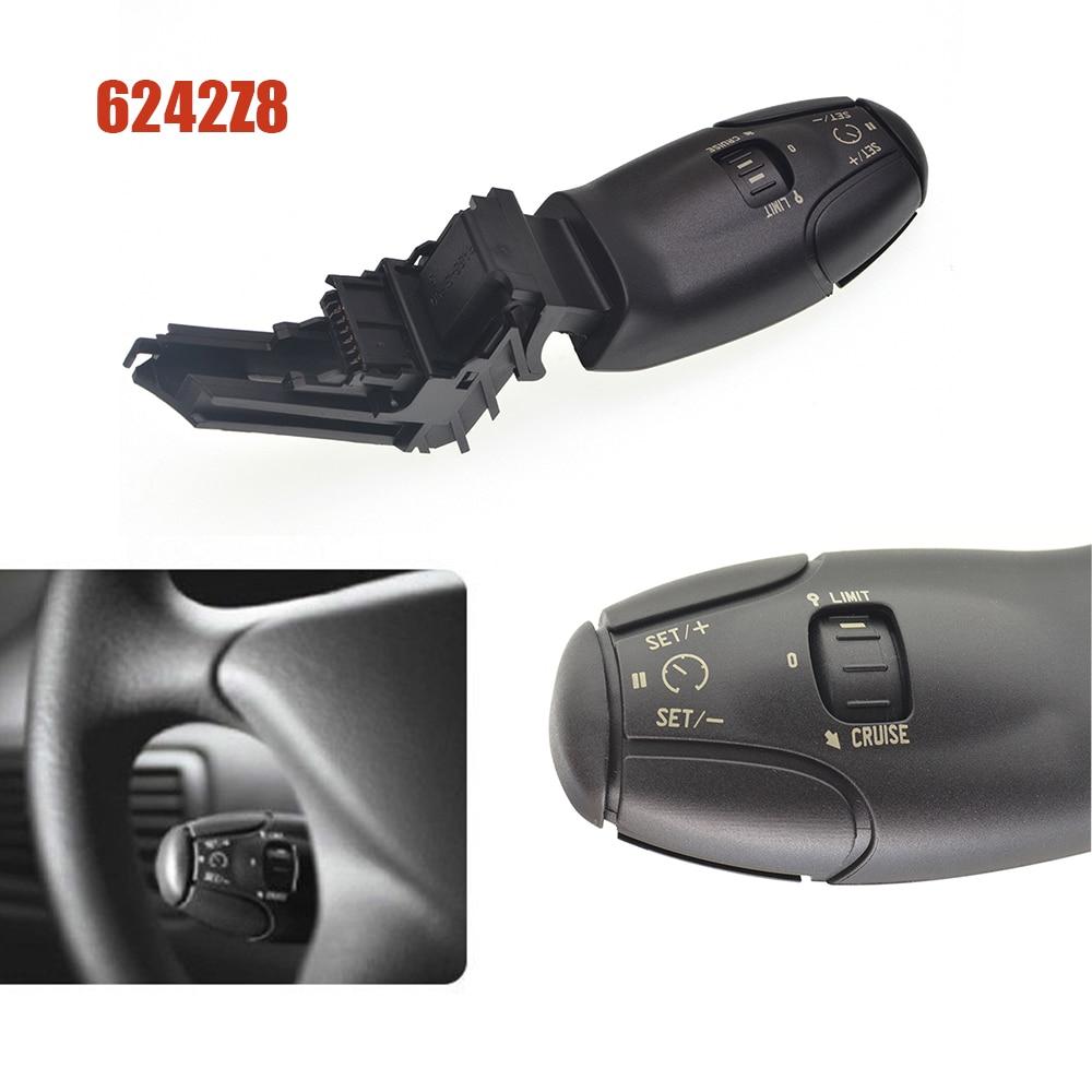 Coche interruptor de Control de crucero 6242Z8 accesorios de coche nuevo para Citroen Berlingo Xsara C8 C3 C5 para Peugeot 207, 307, 308, 407, 607
