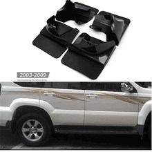 Coche guardabarros guardabarros para toyota prado FJ120 2003-2009 guardabarros 2008