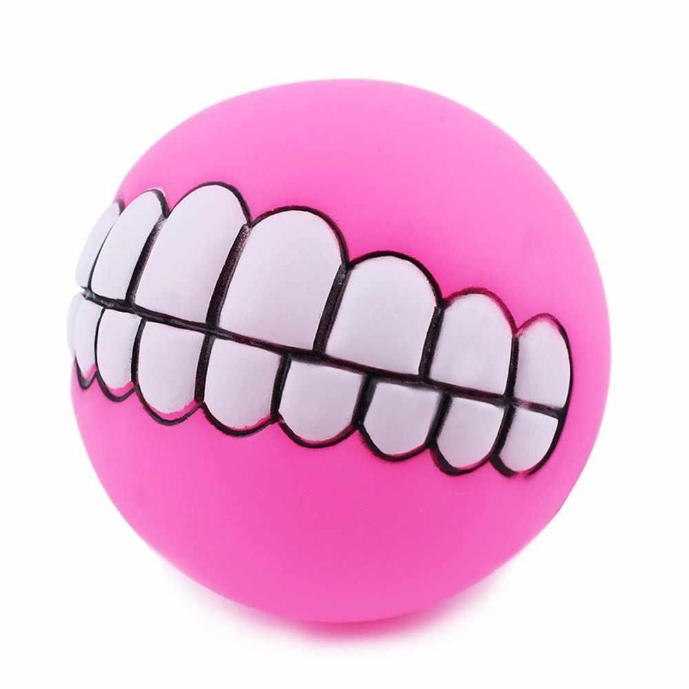 Transer собака пищащий шар игрушка зубы смешно Жевательная пищалка звук собаки играют игрушки, Прямая поставка F8p15 P40