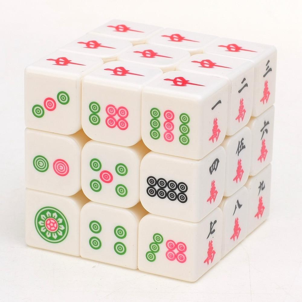 Zcube Aydınlık Mahjong 3x3x3 Sihirli Küp Hız Bulmaca Oyun - Oyunlar ve Bulmacalar - Fotoğraf 6