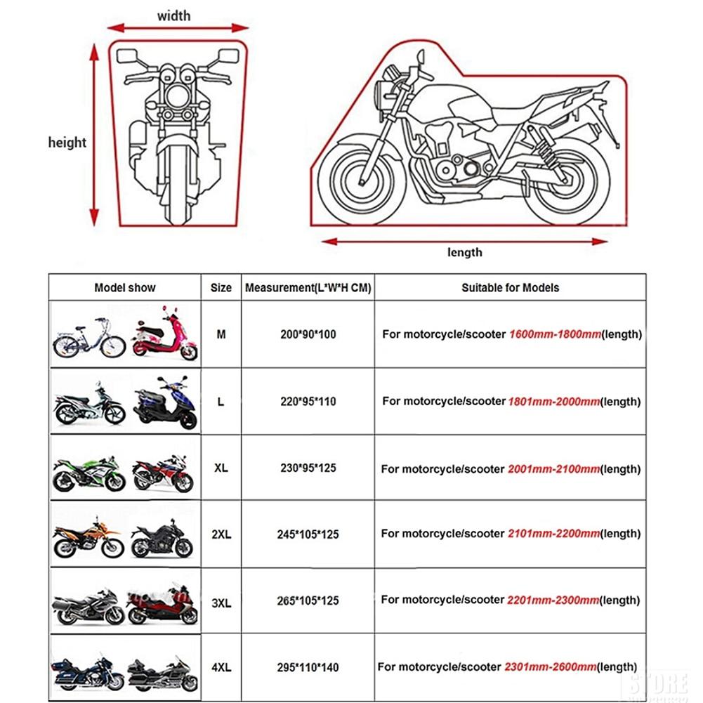 Capas p/ motos