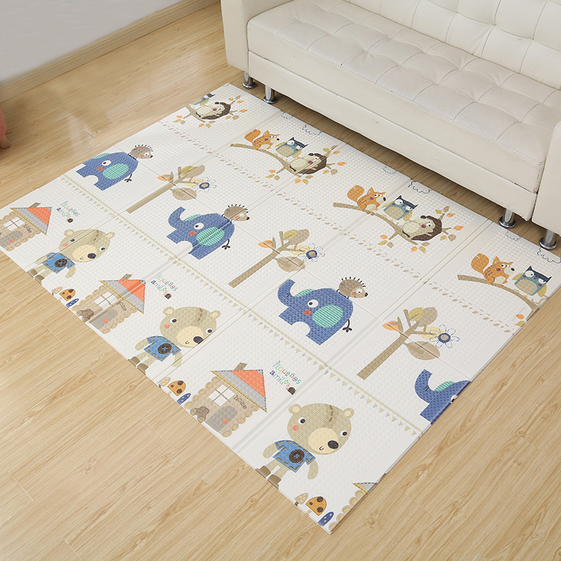 Developing Mat For Baby Non-toxic Soft XPE Foam Activity Gym Portable Foldable Gaming Playmat For Children Kids Rug 200x150cm