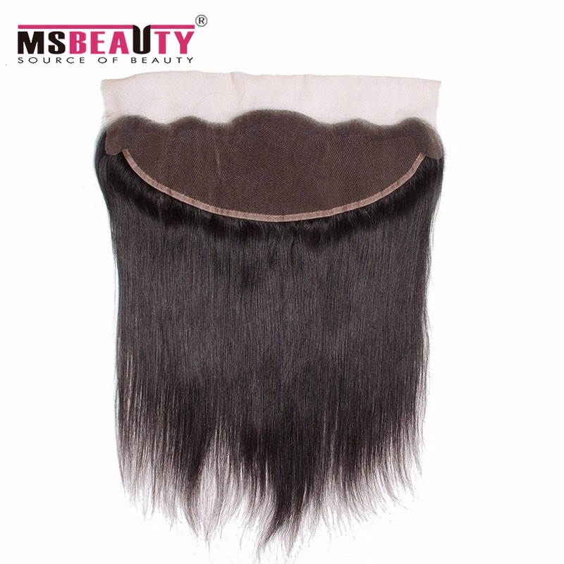 Peruvian Straight Hair Silk Base Frontal With Bundles 8A Grade Virgin Unprocessed Human Hair Peruvian Virgin Hair With Closure