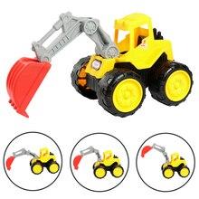 Crianças Brincar Ao Ar Livre Brinquedos de Praia de Areia Dragagem Escavadeira Empilhadeira Caminhão de Construção Crianças Brinquedo Educação infantil Toy Kids Presentes