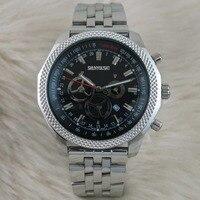 WG05105 мужские часы лучший бренд взлетно посадочной полосы Роскошные европейский дизайн кварцевые наручные часы