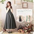 Англия Опрятный Стиль Старинные Долго Дизайн Плед Платье Вышитые Искусственного Двух Частей Макси Платья Для Женщин Мори Девушка Vestidos Faldas