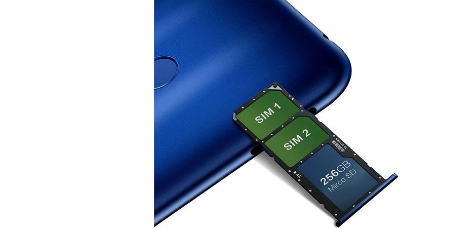 8c Honor 8c 3 slot Face ID 6.26 inch  Snapdragon 632 Octa Core Front 8.0MP Dual Rear Camera 4000mAh