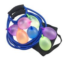 Водяной воздушный шар пусковая Рогатка для улицы игрушки Водный пистолет пляж водный бой Снеговик метание Снеговики боец