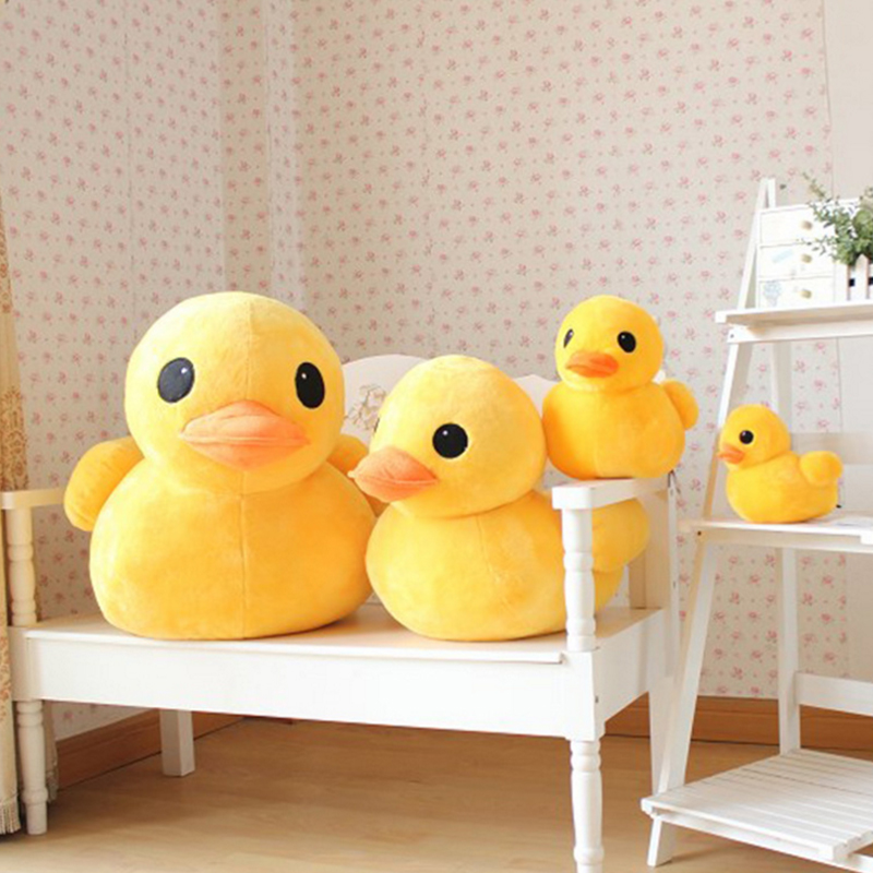 Christmas Gifts <font><b>20</b></font>/30/50cm Children's <font><b>Day</b></font> Gift Cartoon Little Yellow Duck Plush Doll Hong Kong Big Yellow Duck Doll Plush Toy image