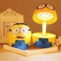 Инновационные сон складная миньоны игрушка лампа платные из светодиодов ночника игрушки лучший подарок для детей