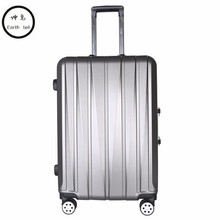 KUNDUI 20 24 inch Aluminum frame luggage universal wheel trolley password lock Suitcase abs PC hard