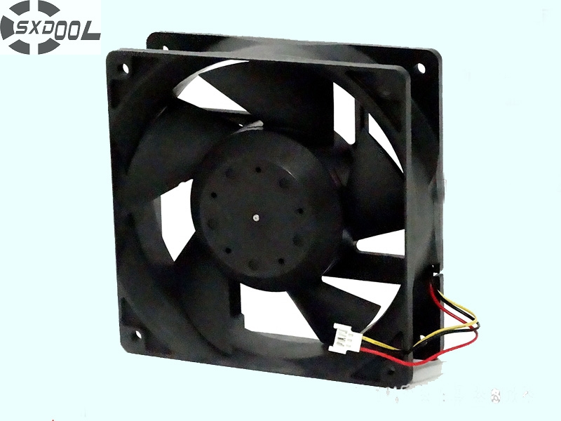 SXDOOL MMF-12D24DS-CM1 12038 12cm 120mm DC24V 0.36A For Yaskawa server inverter cooling fan universal motorcycle cnc clutch brake pump fluid tank reservoir oil cup