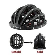 2017 New Foldable Cycling Helmet Portabel Ultralight Road Bike Helmet Unisex Bicycle Helmet Adult Mountain Capacete Ciclismo